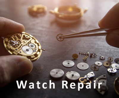 Get your broken jewelry and watch repaired at Palimino Jewelry
